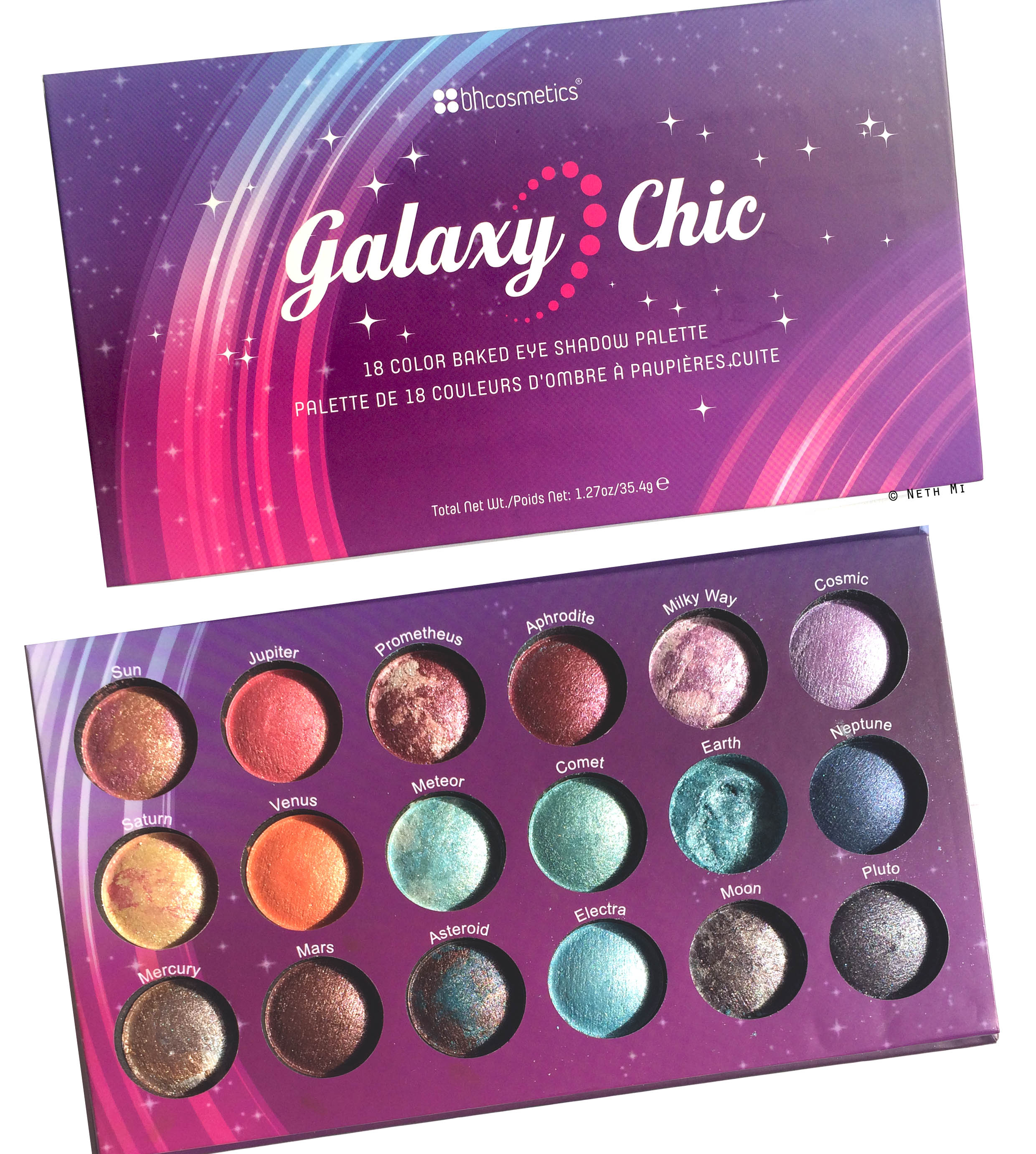 Galaxy Chic Baked Eyeshadow Palette by BH Cosmetics #16