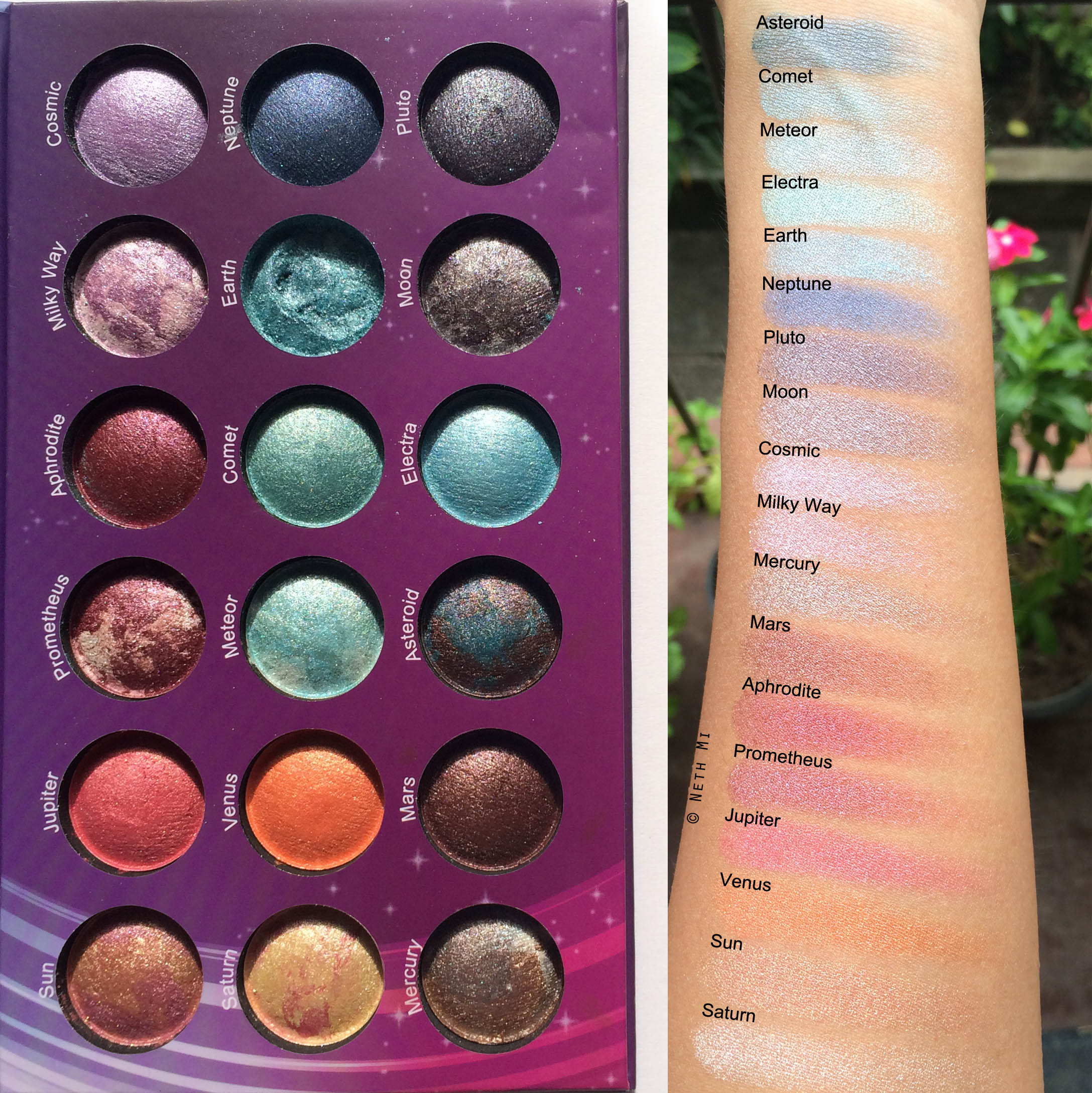 Galaxy Chic Baked Eyeshadow Palette by BH Cosmetics #18