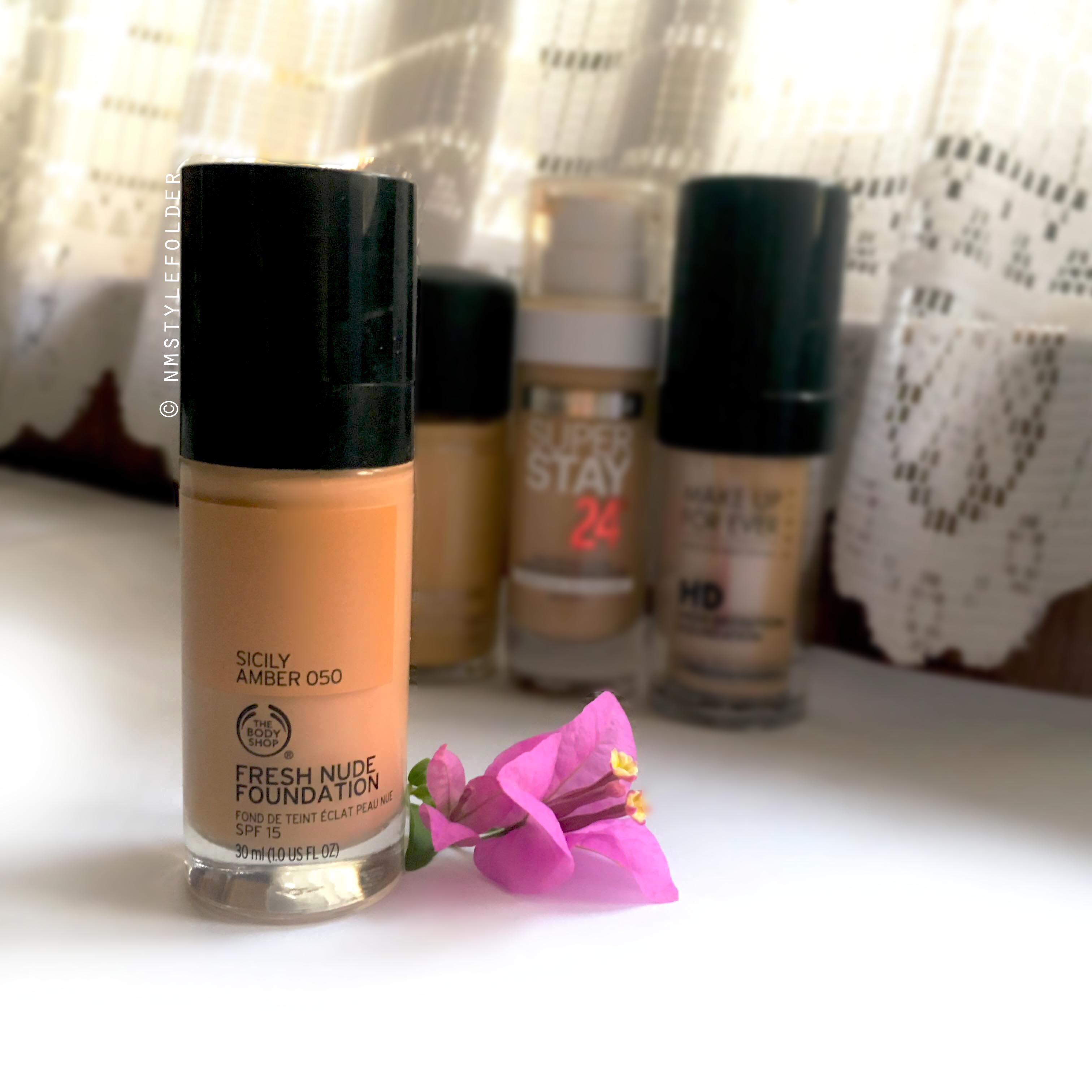 The Body Shop Fresh Nude Foundation Review Style Folder