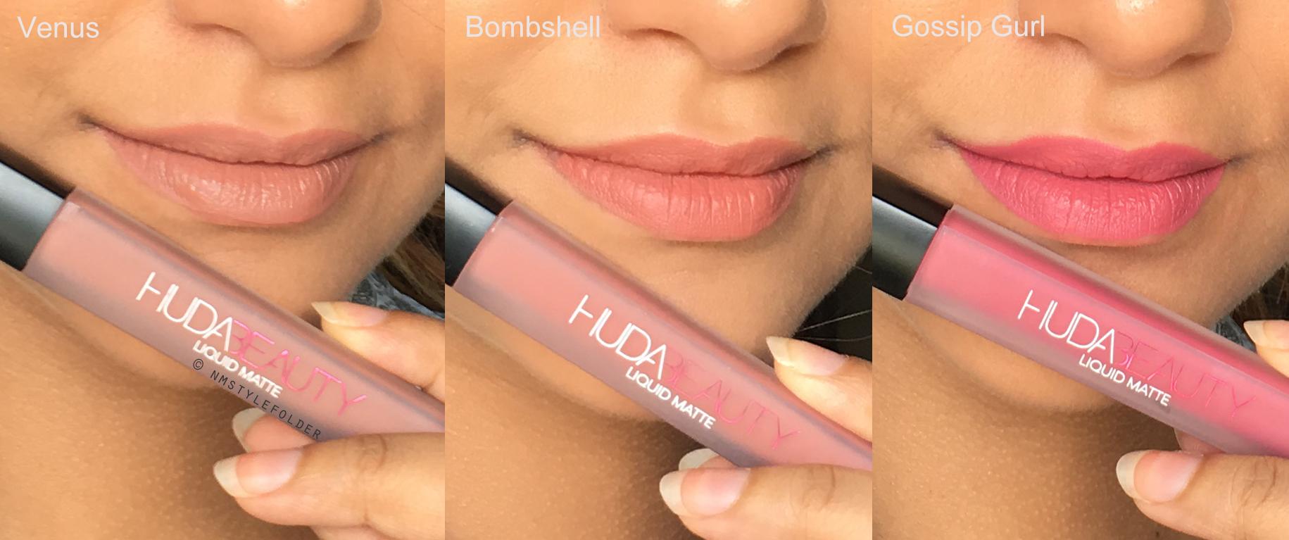 Worth The Hype Huda Beauty Liquid Lipsticks Style Folder