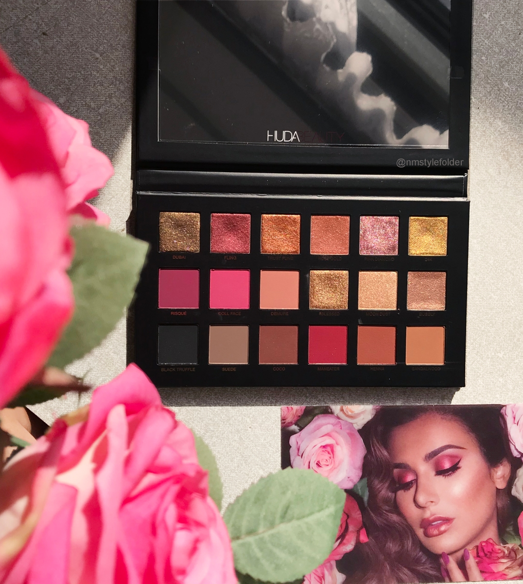First Impressions Huda Beauty Rose Gold Remastered Palette Style